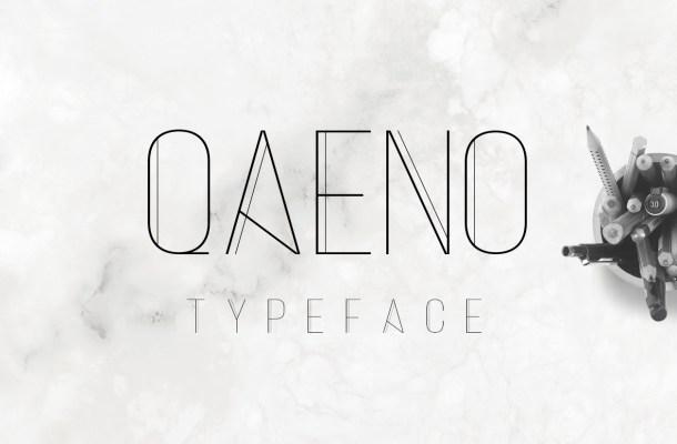 Qaeno Free Font