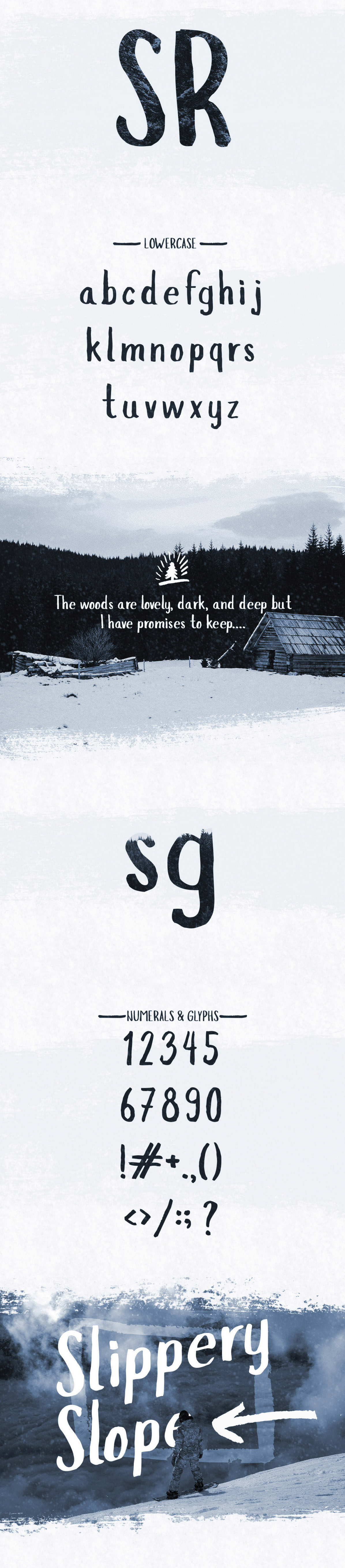 SLopes typeface 2