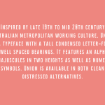 Union Condensed Font Family