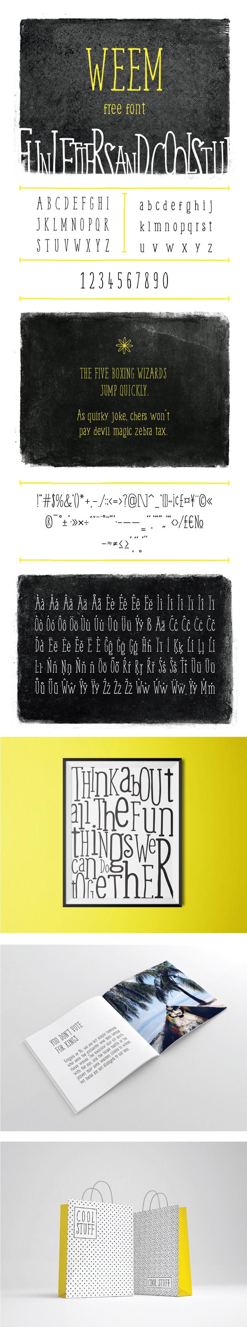 Weem Font - WILDTYPE