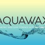 Aquawax Free Font Family
