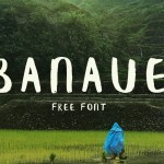 Banaue Free Handwritten Font
