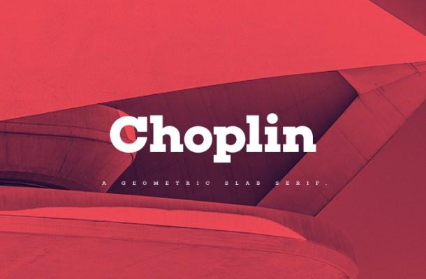 Choplin Free Modern Slab Serif Font