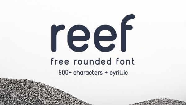Reef Free Rounded Font