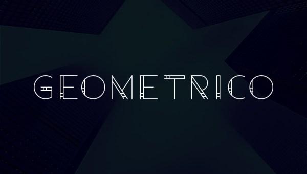 Geometrico Free Font
