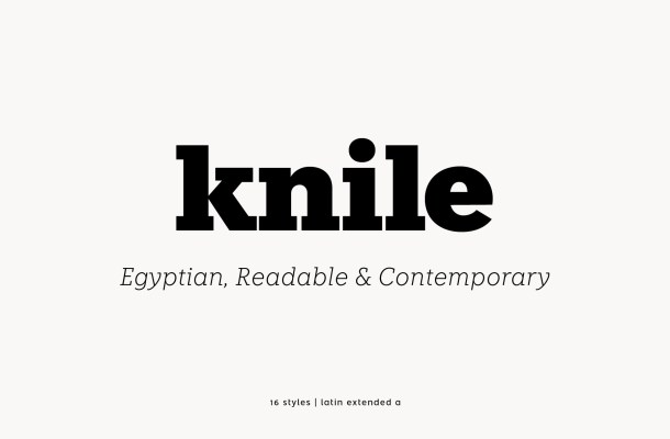 Knile Font Free