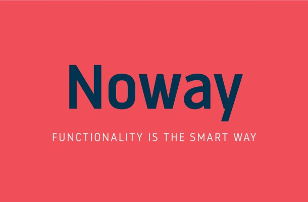 Noway Free Font + Bonus Icons