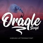 Oraqle Free Script Font