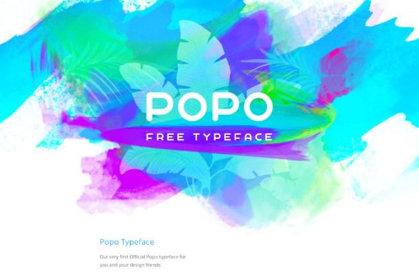 POPO Free Typeface