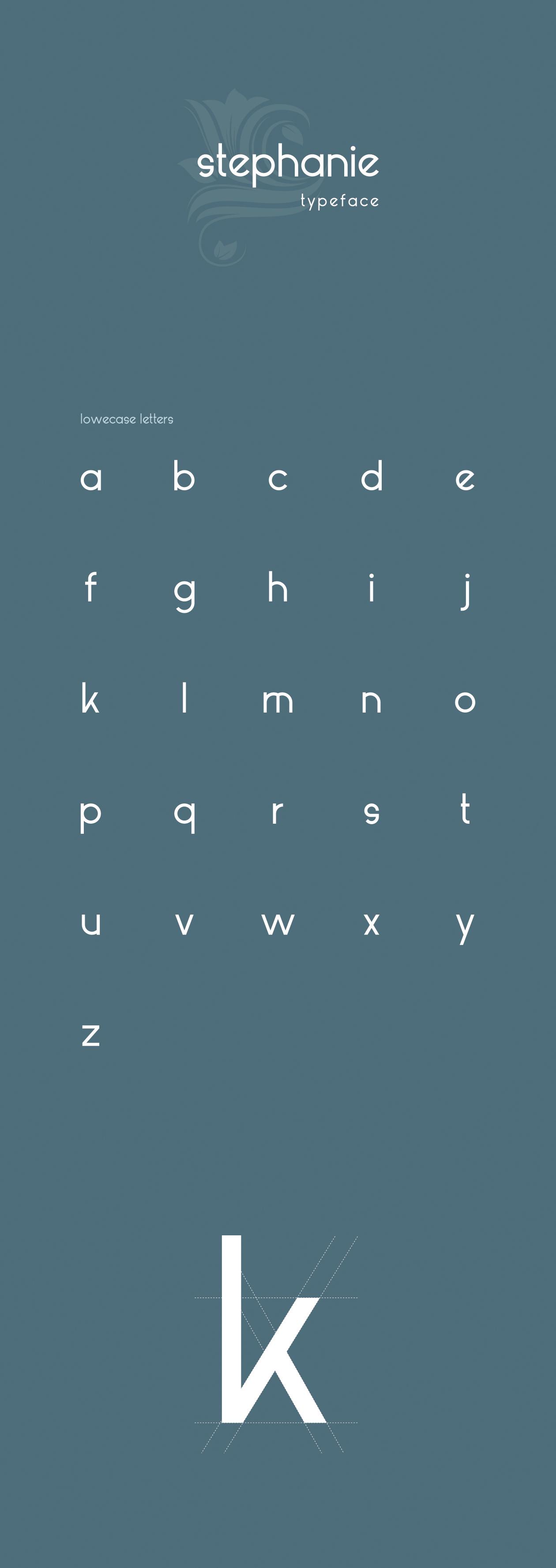 stephanie typeface