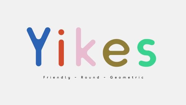 Yikes Free Typeface