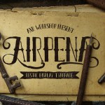Airpena Rustic Free Display Font