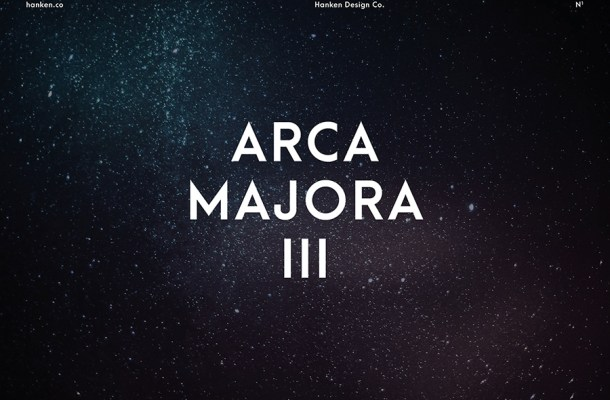 Arca Majora III Free Font