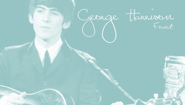 George Harrison Font Free