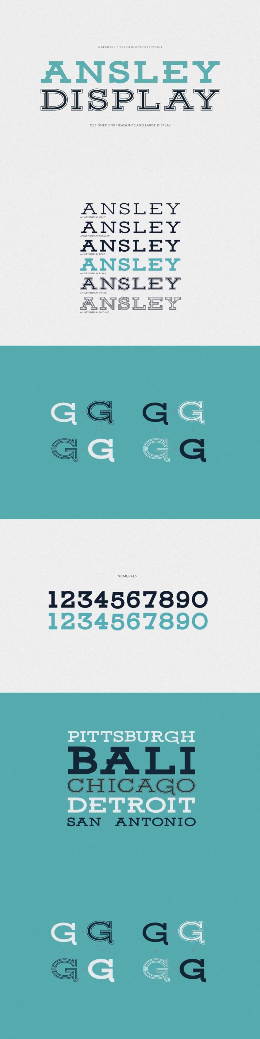 FREE Ansley Slab Serif Font