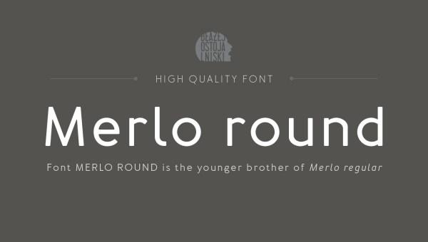 Merlo Round Free Font