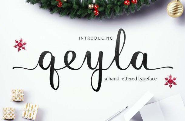 Qeyla Free Script Font