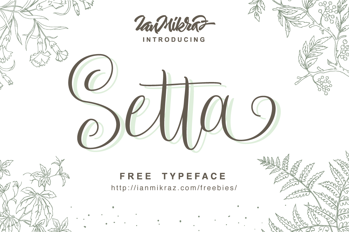 Setta-Free-Typeface-Cover