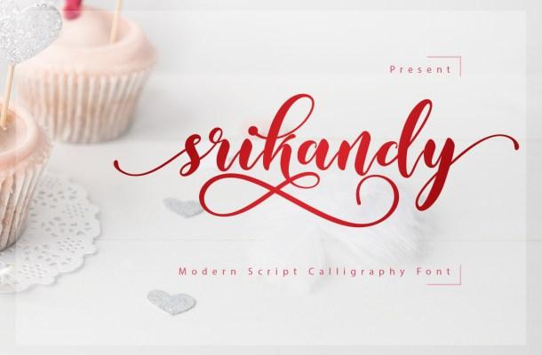 Srikandy Free Script Font