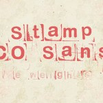 Stamp CO Sans Free Font