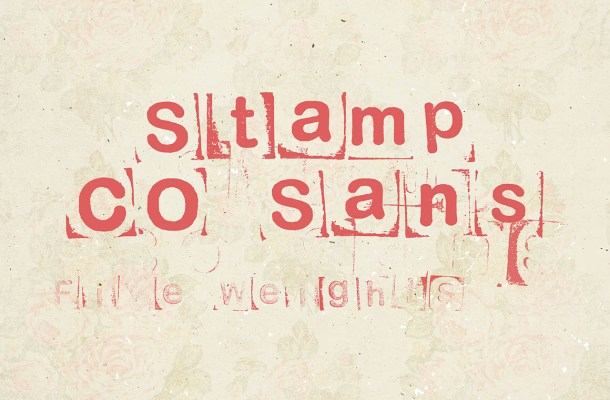 Stamp CO Sans Free Font