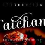 Taichan Free Script Font