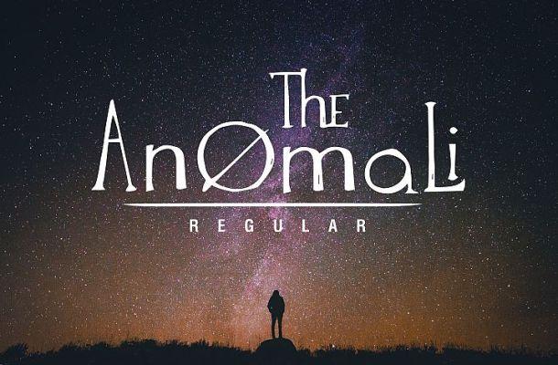 The Anomali Font