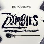 Zombies Free Brush Font