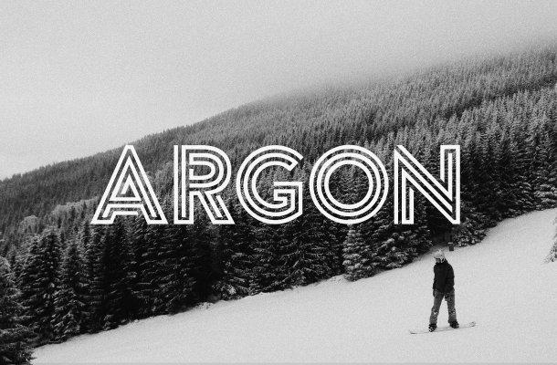 Argon Free Font