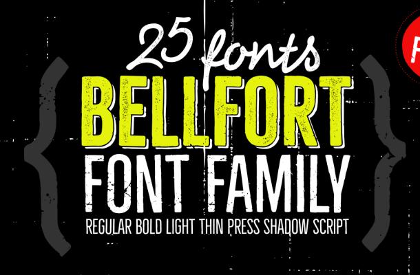 Bellfort Free Font