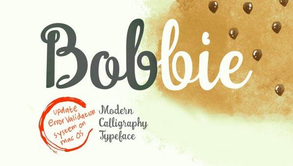 Bobbie Font Free