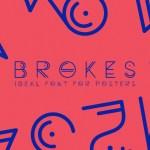 Brokes Font Free