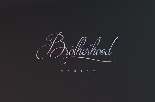 Brotherhood Free Script Font