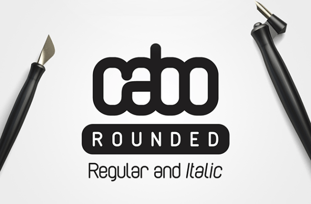 Cabo Rounded Font Free