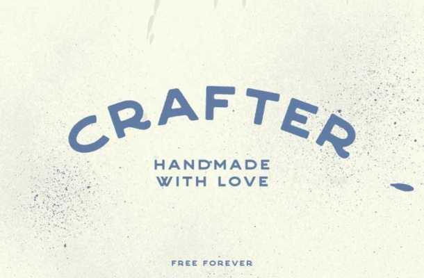 Crafter – Free Vintage Font