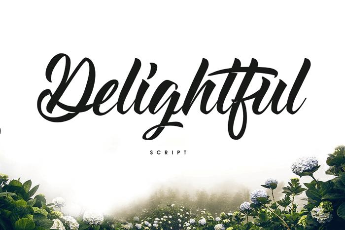 delightful-font
