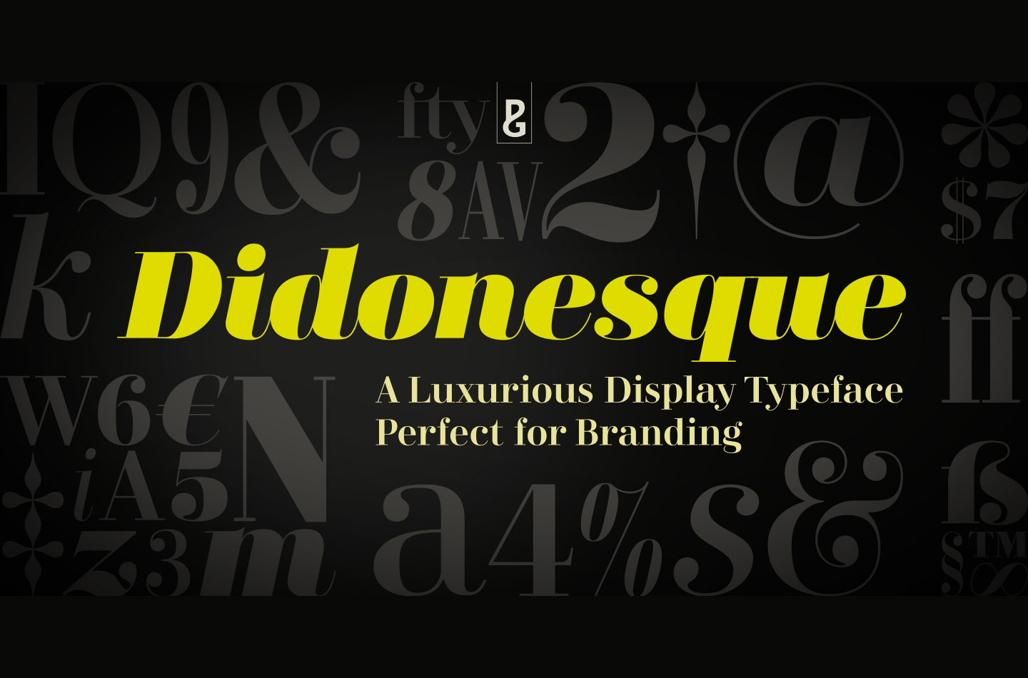 Didonesque Free Serif Font - Free Fonts