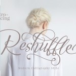 Reshuffle Free Script Font