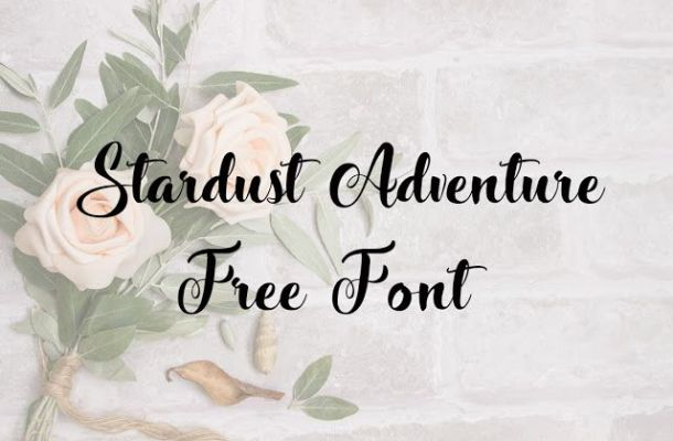 Stardust Adventure Font Free