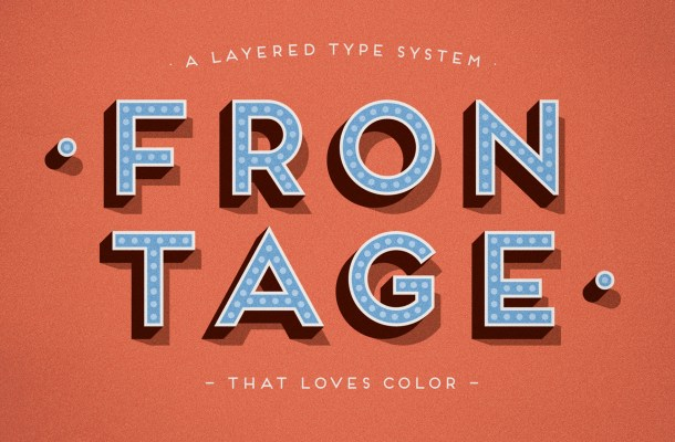 Frontage Font Free