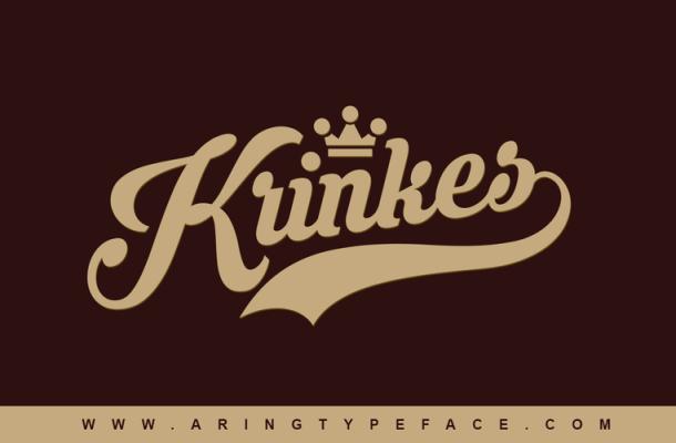 Krinkes Free Script Font