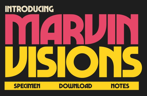 Marvin Visions: Free Bold & Uppercase Font