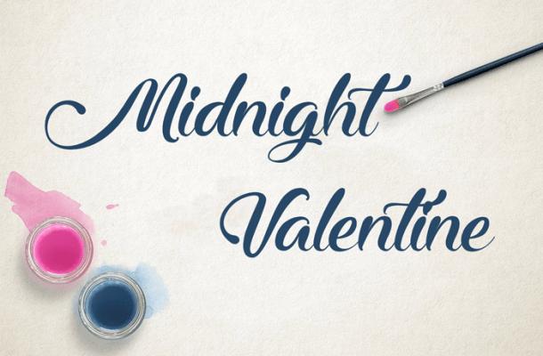 Midnight Valentine Font Free