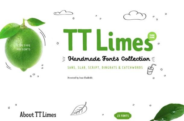TT Limes Font Free