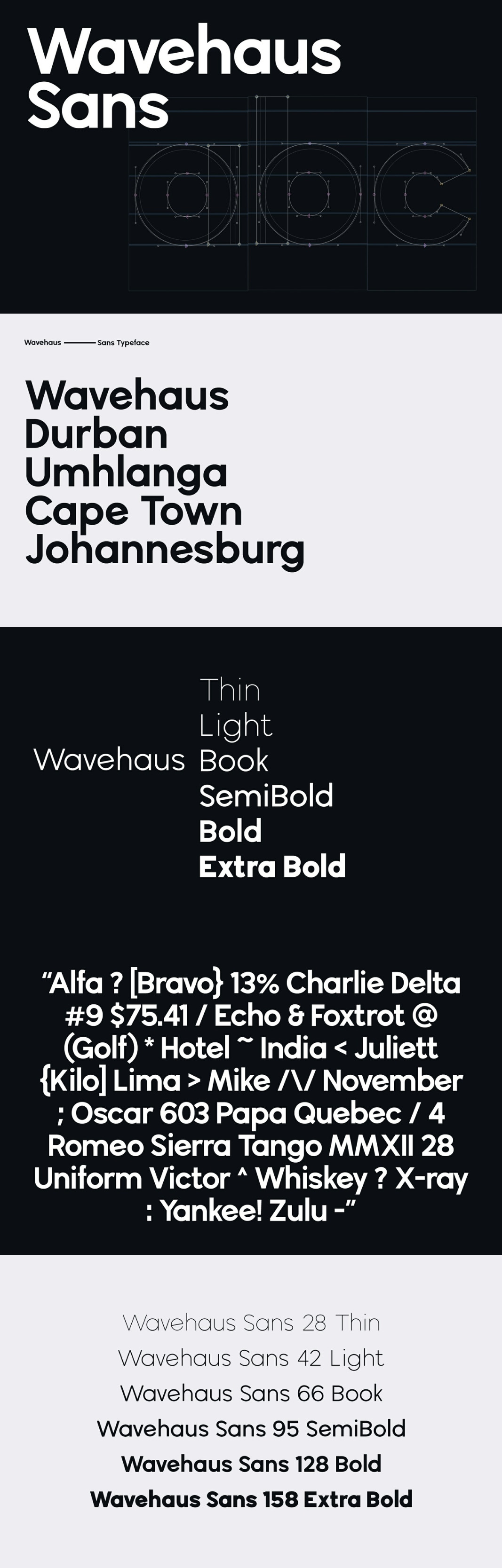 Wavehaus Sans Font Family - Free Fonts
