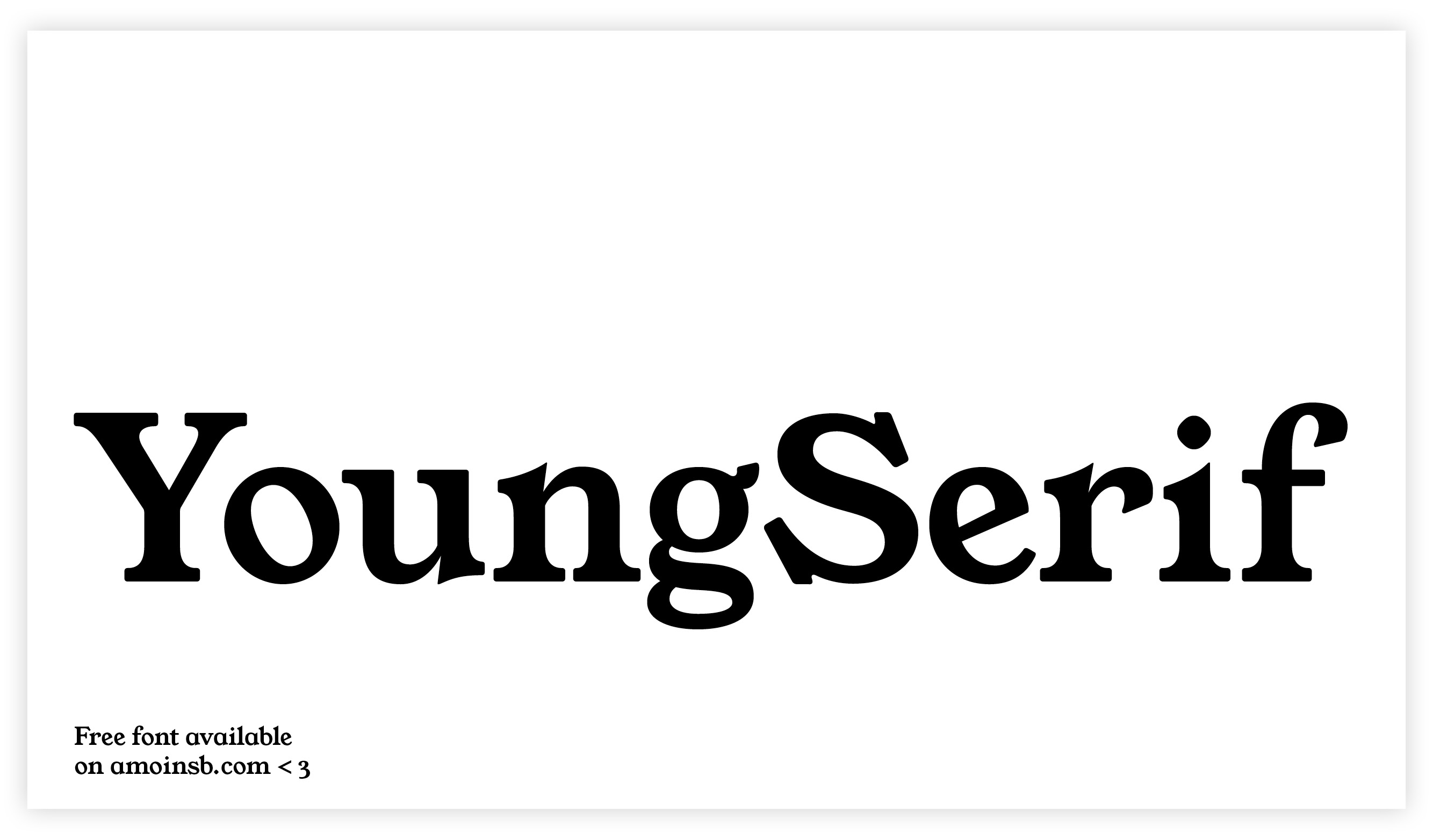 young serif