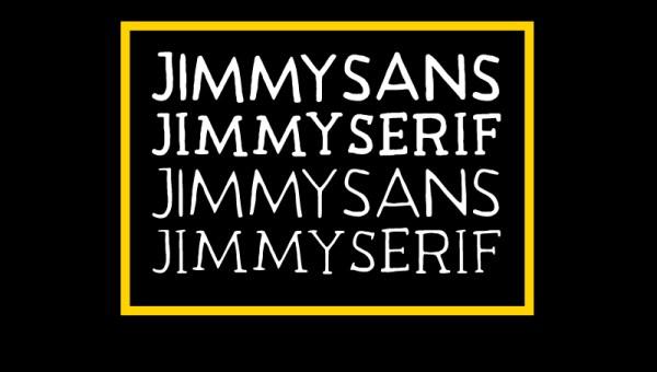 Jimmy Font Family