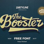 The Booster Font