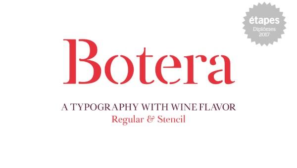 Botera Serif Font