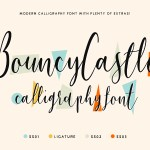 Bouncy Castle Font Family